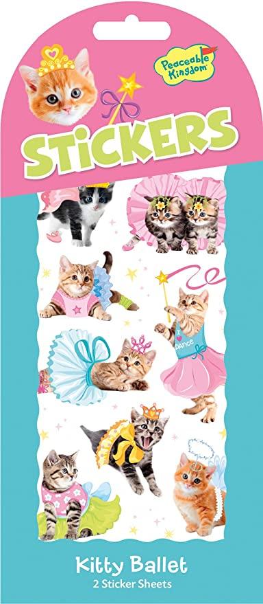 kitty ballet stickers