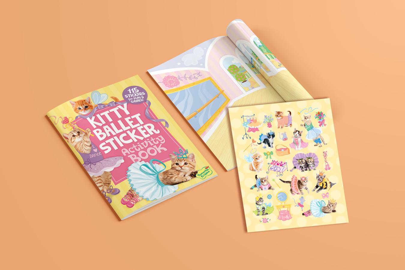 Kitty Ballet Sticker Activity Book